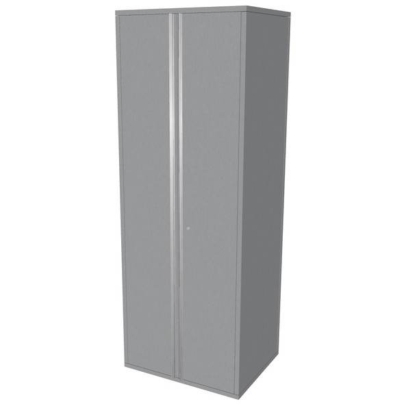 "Saber silver 30"" storage locker cabinet"