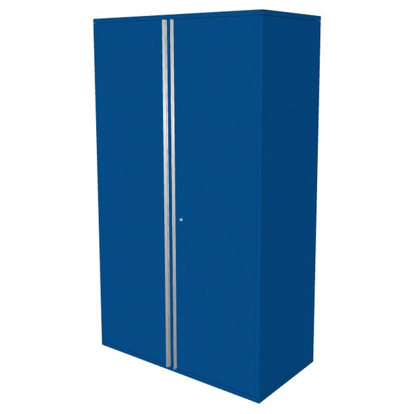 "Saber blue 48"" storage locker cabinet"