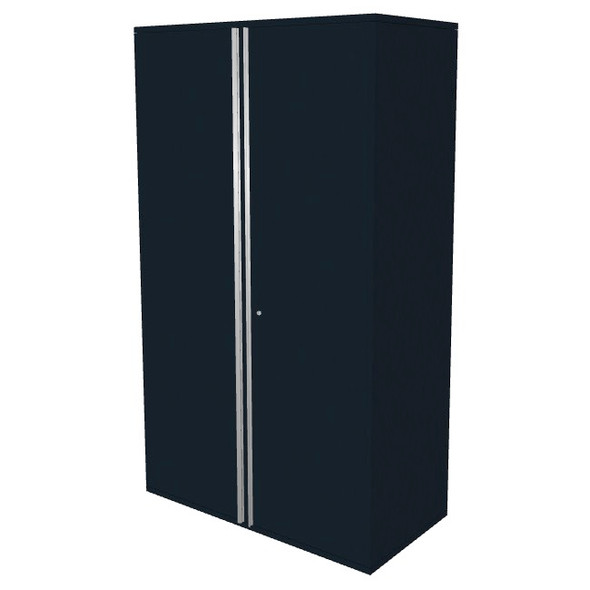 "Saber black 48"" storage locker cabinet"