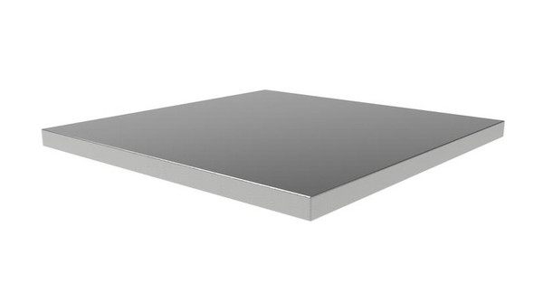 Stainless Steel top for 1 base units