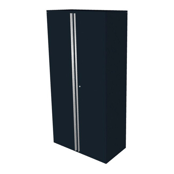"Saber black 36"" storage locker cabinet"