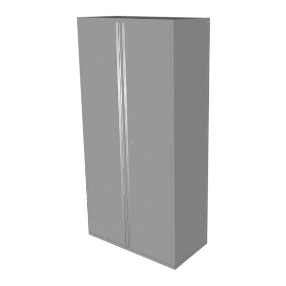 """Saber silver 36"""" storage locker cabinet"""