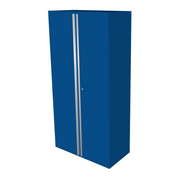 "Saber blue 36"" storage locker cabinet"