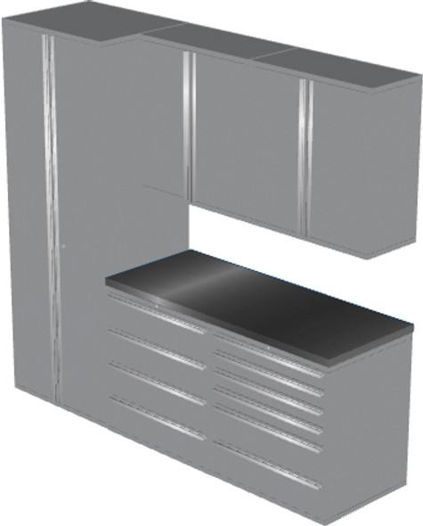 6-Piece Silver Garage Cabinet Set (6006)