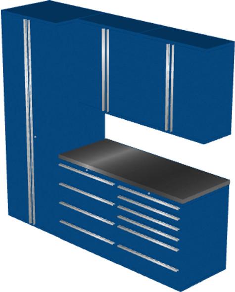 6-Piece Blue Garage Cabinet Set (6006)