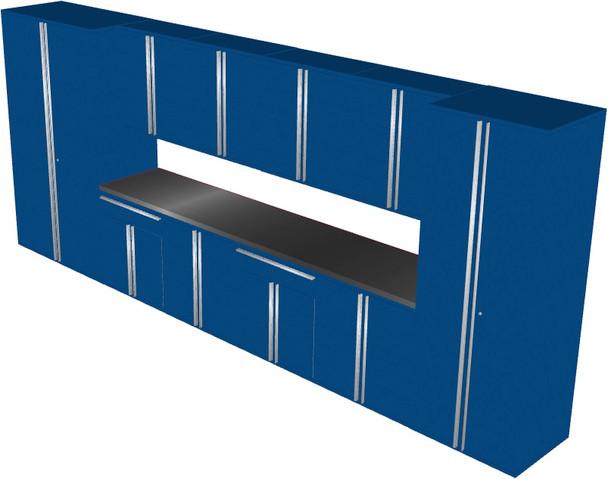 12-Piece Blue Garage Cabinet Set (121984)