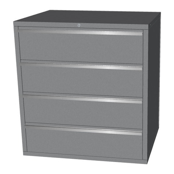 Saber silver 4 drawer base cabinet