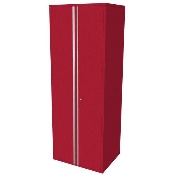 """Saber red 30"""" storage locker cabinet"""