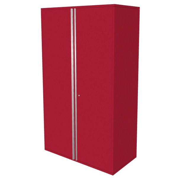 """Saber red 48"""" storage locker cabinet"""