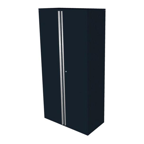 """Saber black 36"""" storage locker cabinet"""