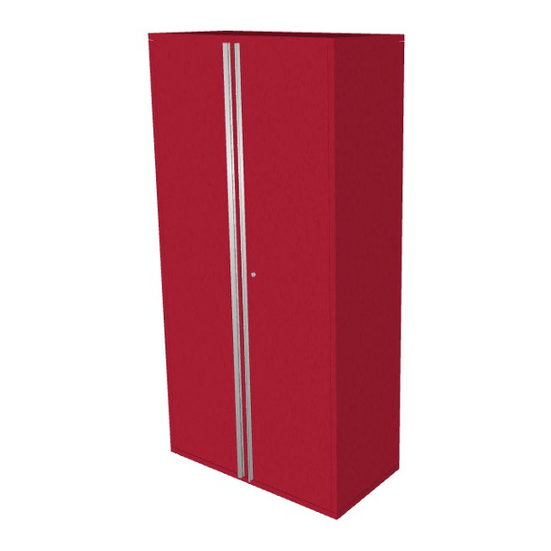 "Saber red 36"" storage locker cabinet"