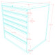 Saber 9-Piece Blue Garage Cabinet Set (9001)