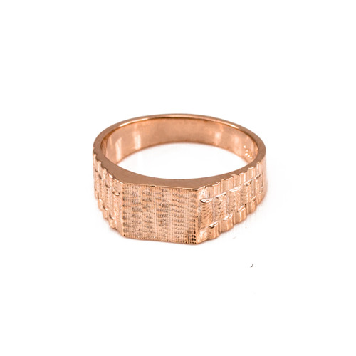 Rose Gold Watchband Design Baby Ring
