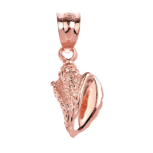 Rose Gold Sea shell Pendant Necklace Charm