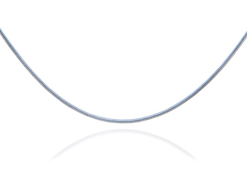 Snake 925 Sterling Silver Chain 0.90 mm