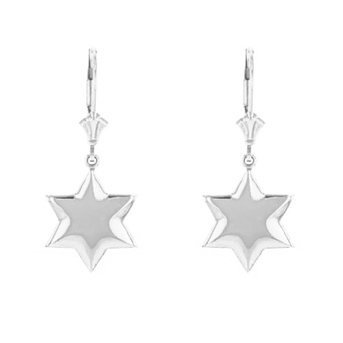 Sterling Silver Star Earring Set
