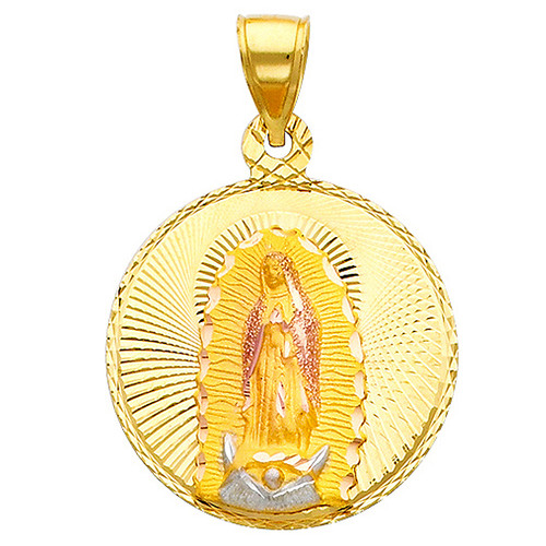 """Classic """"Our Lady of Guadalupe"""" Pendant- 1.00 Inch"""