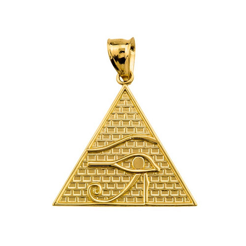 10k Gold Horus Pendant
