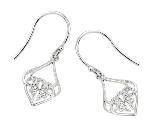 Sterling Silver Celtic Knot Earrings