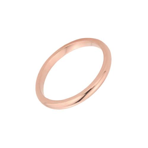 Rose Gold Toe Ring