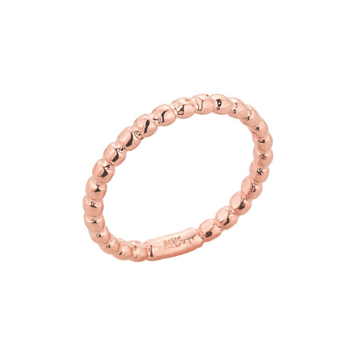 Rose Gold Ball Chain Bead Toe Ring