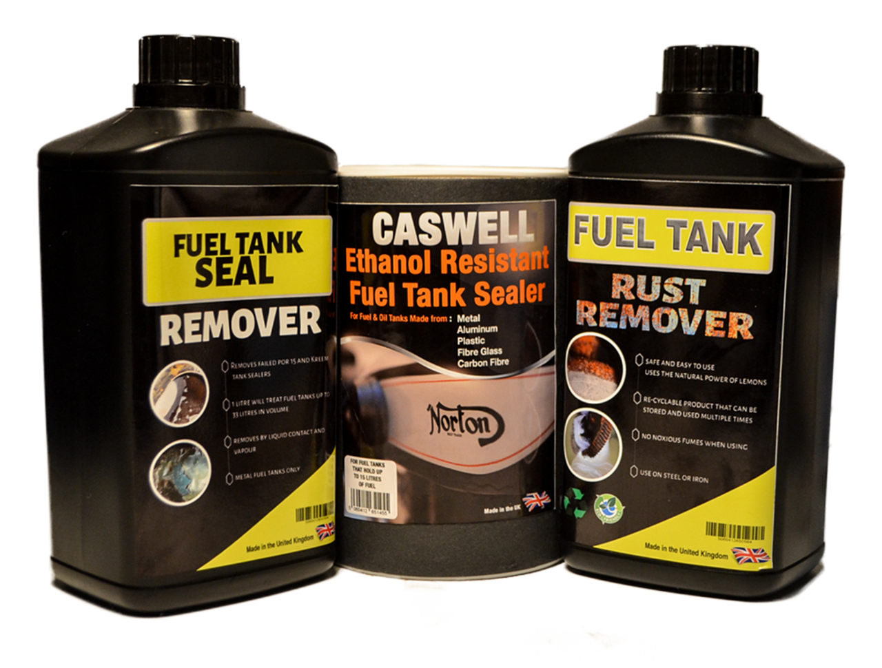 Complete Restoration Kit For Tanks Up To 15 Litres Caswell Europe