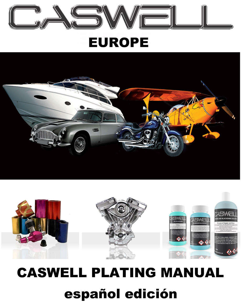 Caswell Plating Manual (Spanish Edition) - Caswell Europe