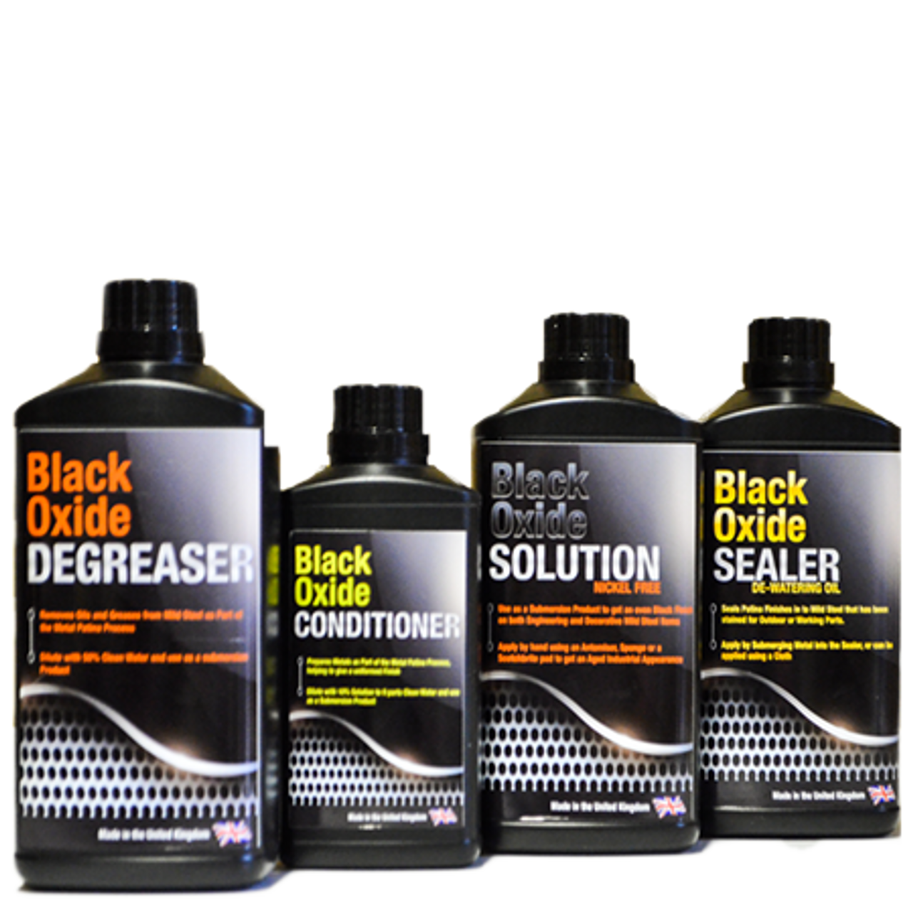 Black Oxide Kits (For Dipping) - Caswell Europe