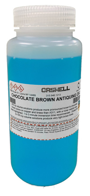 Chocolate Brown Antiquing Oxidiser 1 US Pint (4732ml)