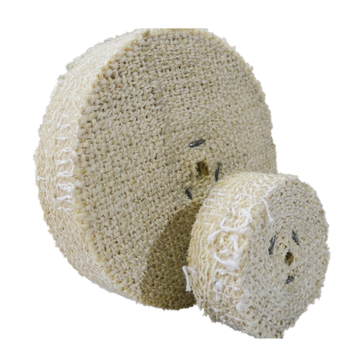 Sisal Buffing Wheel, will remove grind and scratches.