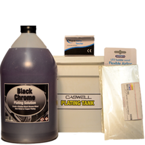 Black Chrome Plating Kit