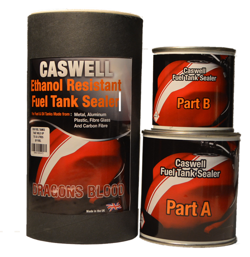 Red Ethanol Proof Fuel Tank Sealer for Tanks up to 33 Litres