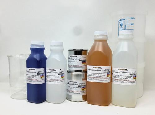 Electroless Copper Plating Kit 1 US Quart (950ML)