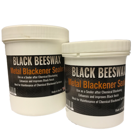 Black Wax Metal Patina Sealer