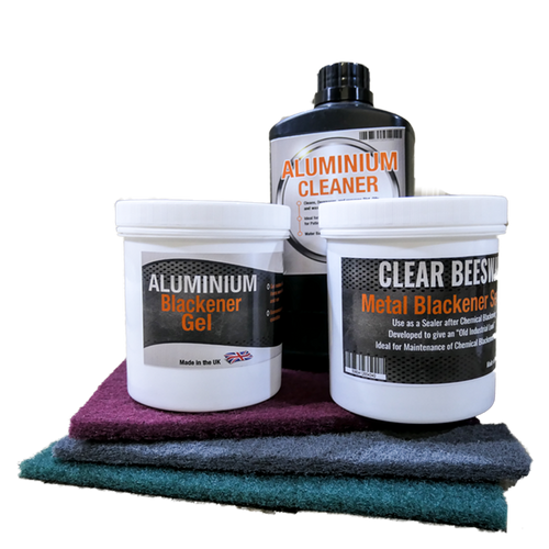 Aluminium Blackening Gel Kit