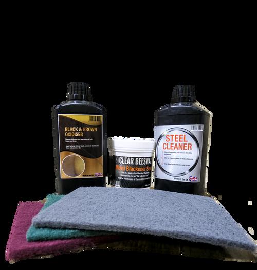 Black and Brown Oxidiser Kit