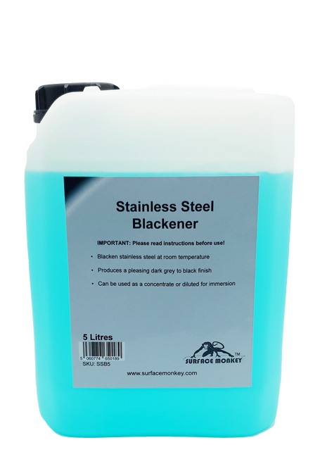 Stainless Steel Blackener 5 Litre