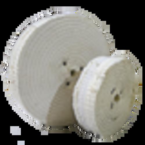 Spiral Sewn Cotton Wheel 150x30x13