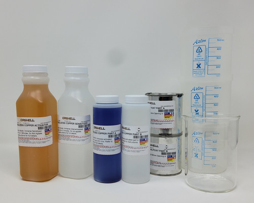 Electroless Copper Plating Kit 1 US Pint