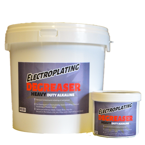 Electroplating and Metal Patina De-greaser (Heavy Duty)
