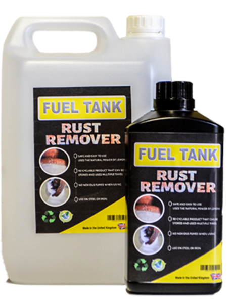 Fuel Tank Rust Remover