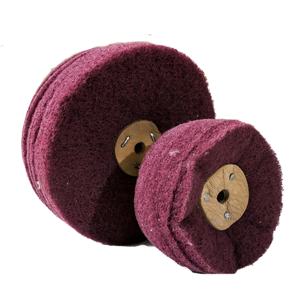 Non Woven Cloth Buffing Wheel  150x6Px10 400 Grit