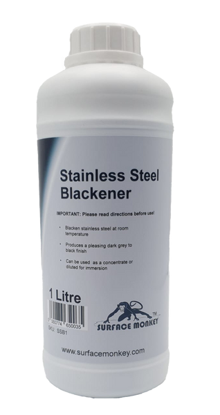 Stainless Steel Blackener 1 Litre