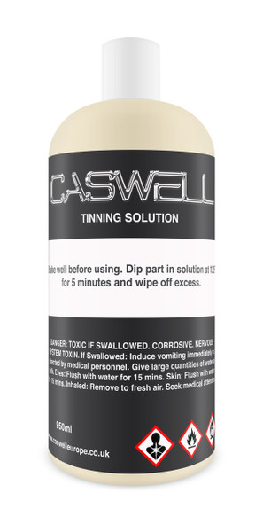 Tinning Solution (Resolves Patchy Electroplating Finish)