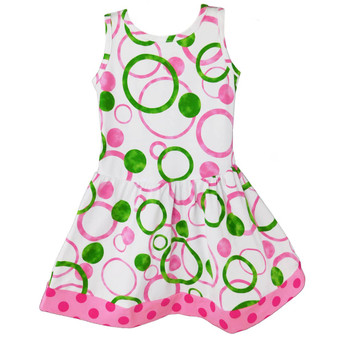 Bubble Design Swing Dress
