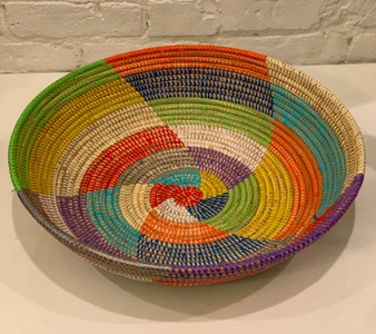 Multicolor Basket From Senegal