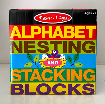 Alphabet Nesting Blocks
