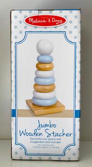 Jumbo Wooden Stacker