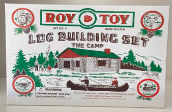 Log Camp Building Set