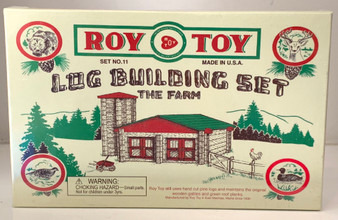 Log Farm Building Set